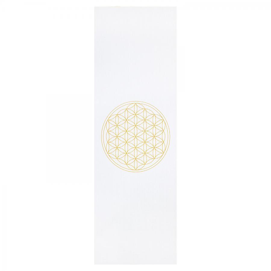 Design yoga mat FLOWER OF LIFE, The Leela Collection