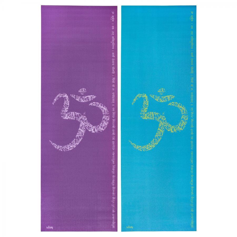 Design yoga mat OM/MANTRA, The Leela Collection