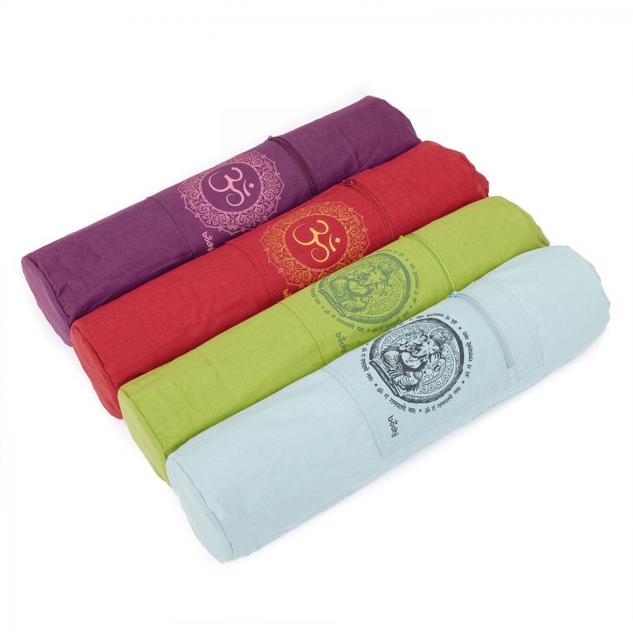 Yoga bag with GANESHA or OM , cotton