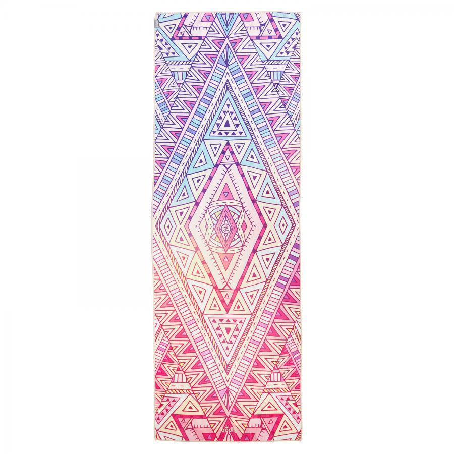 Yogatuch GRIP² Yoga Towel - Tribal Ethno