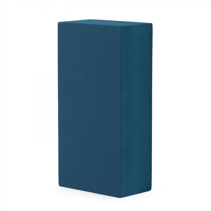 Brique de yoga ASANA (en mousse EVA) bleu