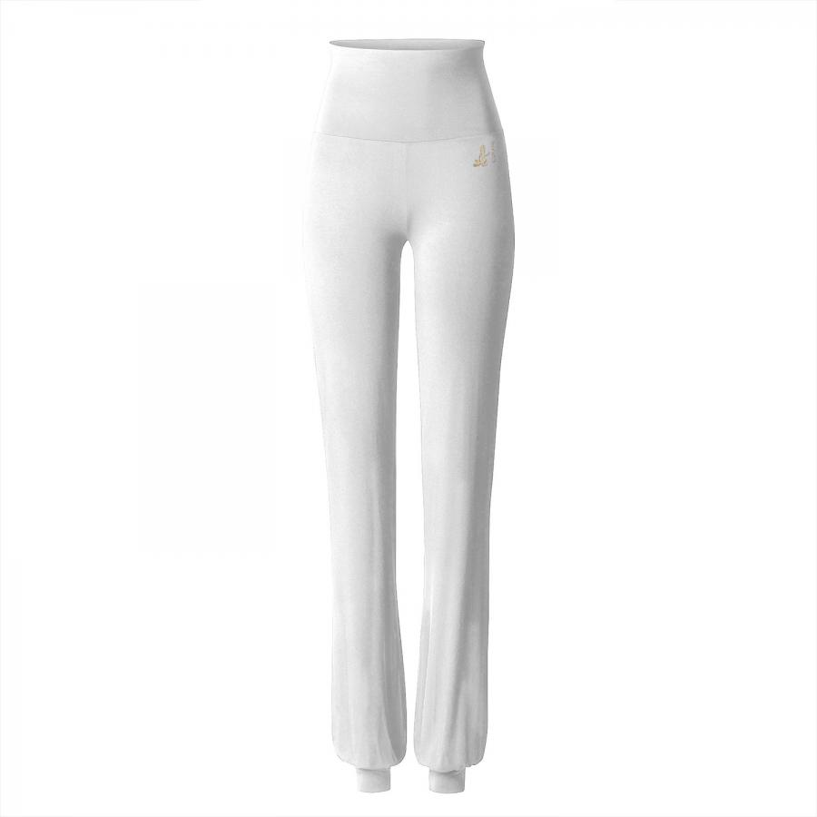 CURARE Gold Edition Long Pants, Roll Down, white
