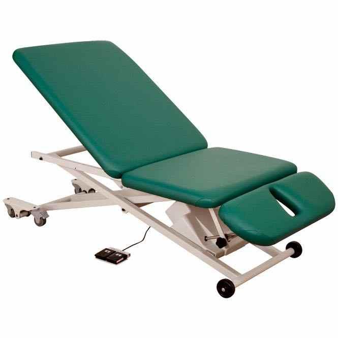 Table de massage PT300 à élévateur ciseaux - plateau 3 pièces