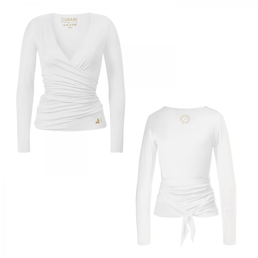 CURARE Gold Edition Wrap Jacket, white