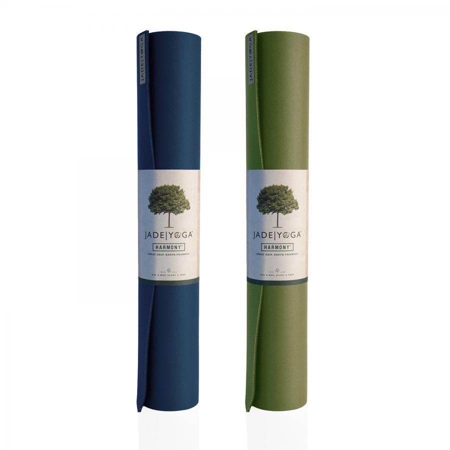 Yoga mat Jade Harmony extra wide | natural rubber