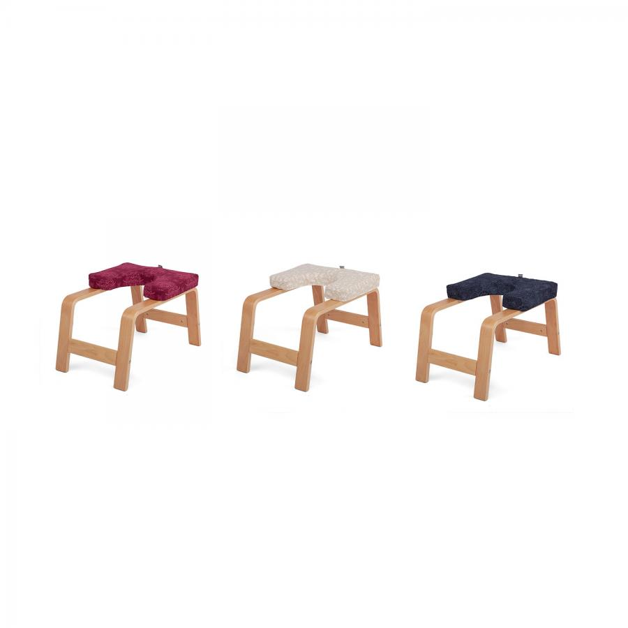 Bezug für Yoga Kopfstand-Hocker, gemustert