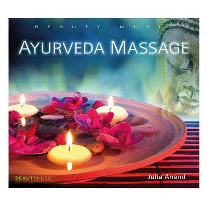 CD Ayurveda Massage, Julia Anand, GEMA-frei