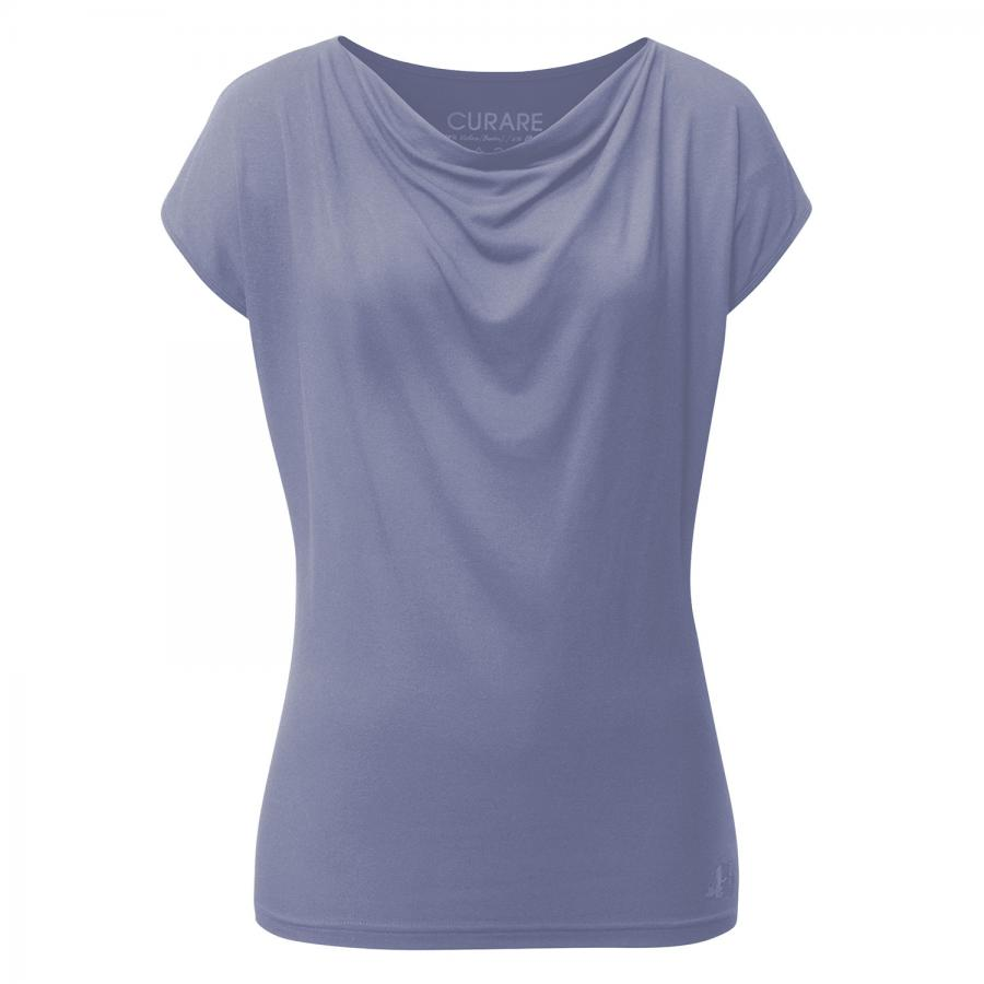 CURARE Top Wasserfall, french blue