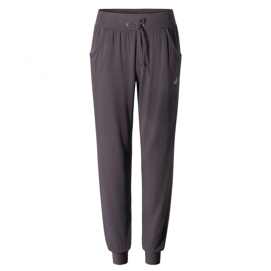 CURARE Pants Long Loose, aubergine