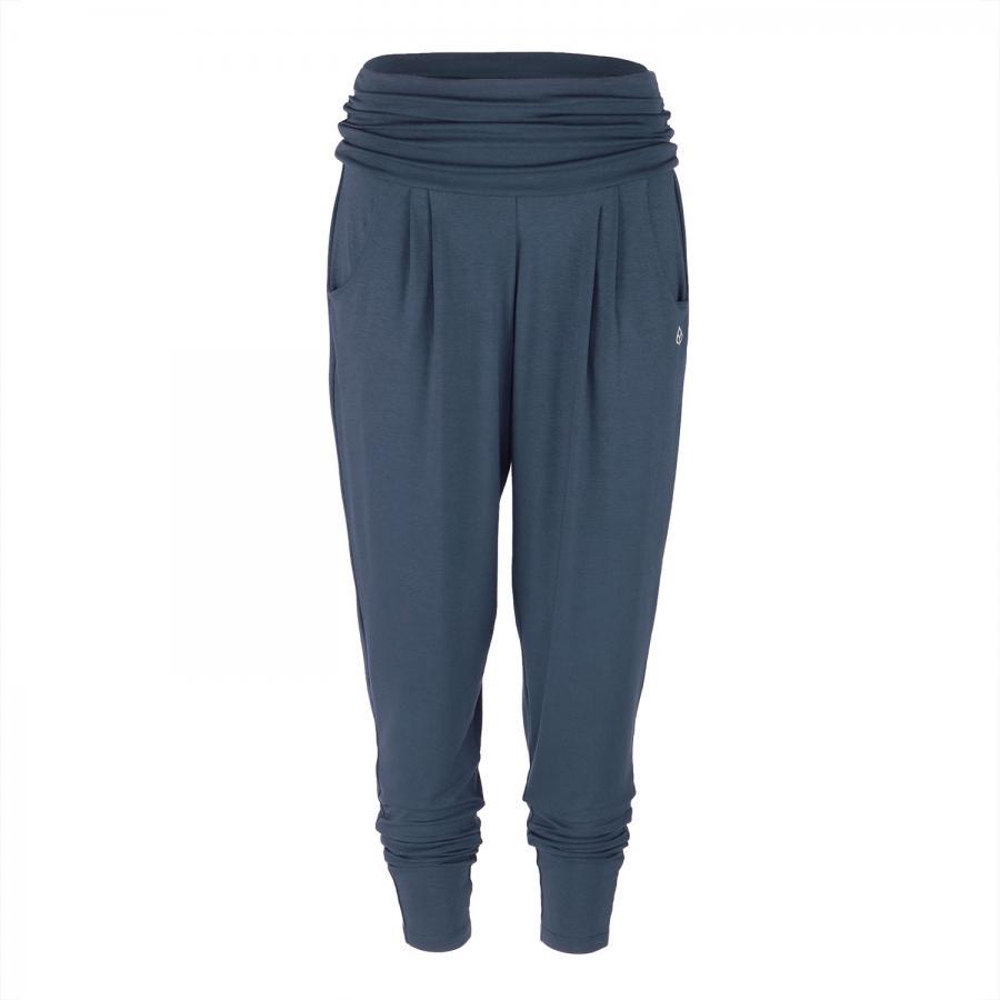Yamadhi Loose Pants Viskose dunkelblau
