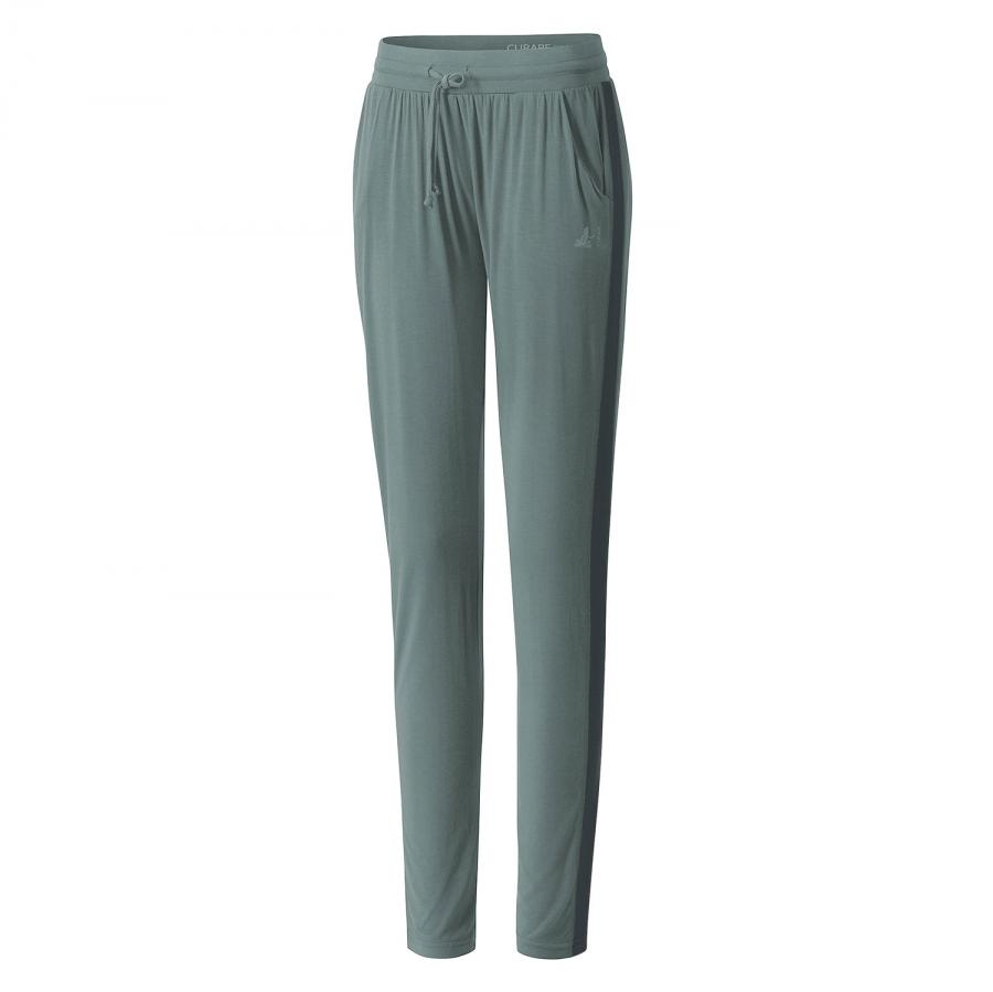 CURARE Pants Galon Stripe Color Blocking: eukalyptus blue / petrol