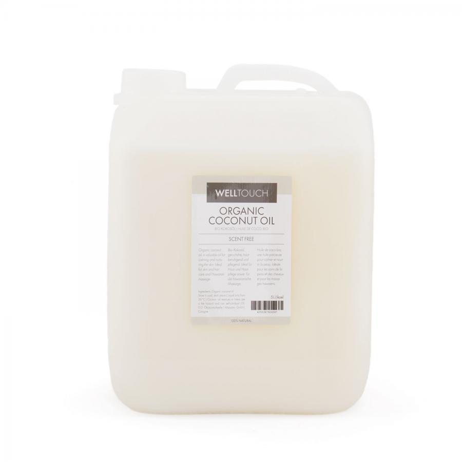 Kokosöl Bioqualität, WellTouch 5 Liter Kanister