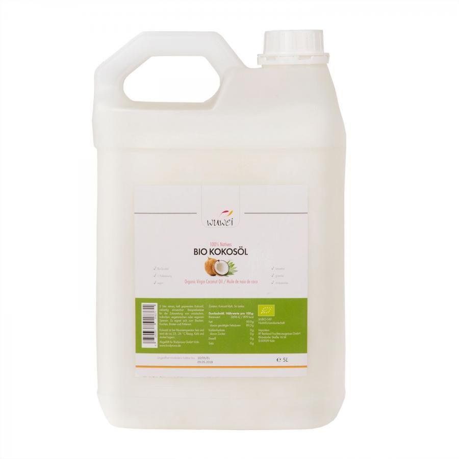 Coconut Oil, 5 liters · organic quality