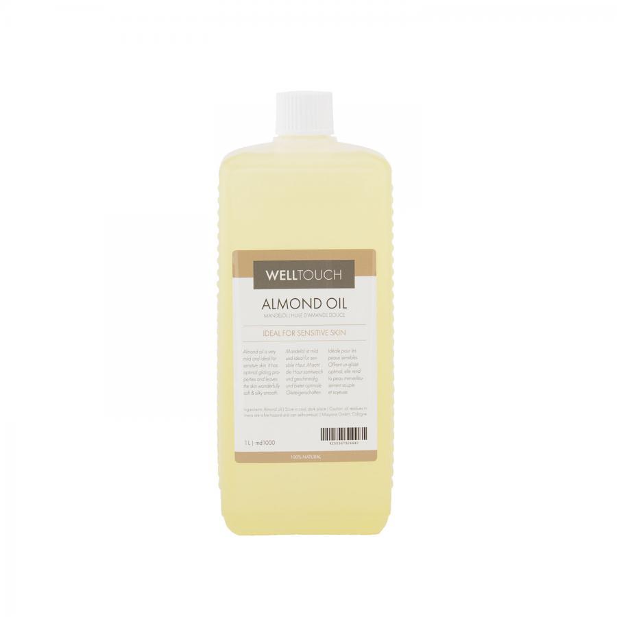 Mandelöl, WellTouch 1 Liter Flasche