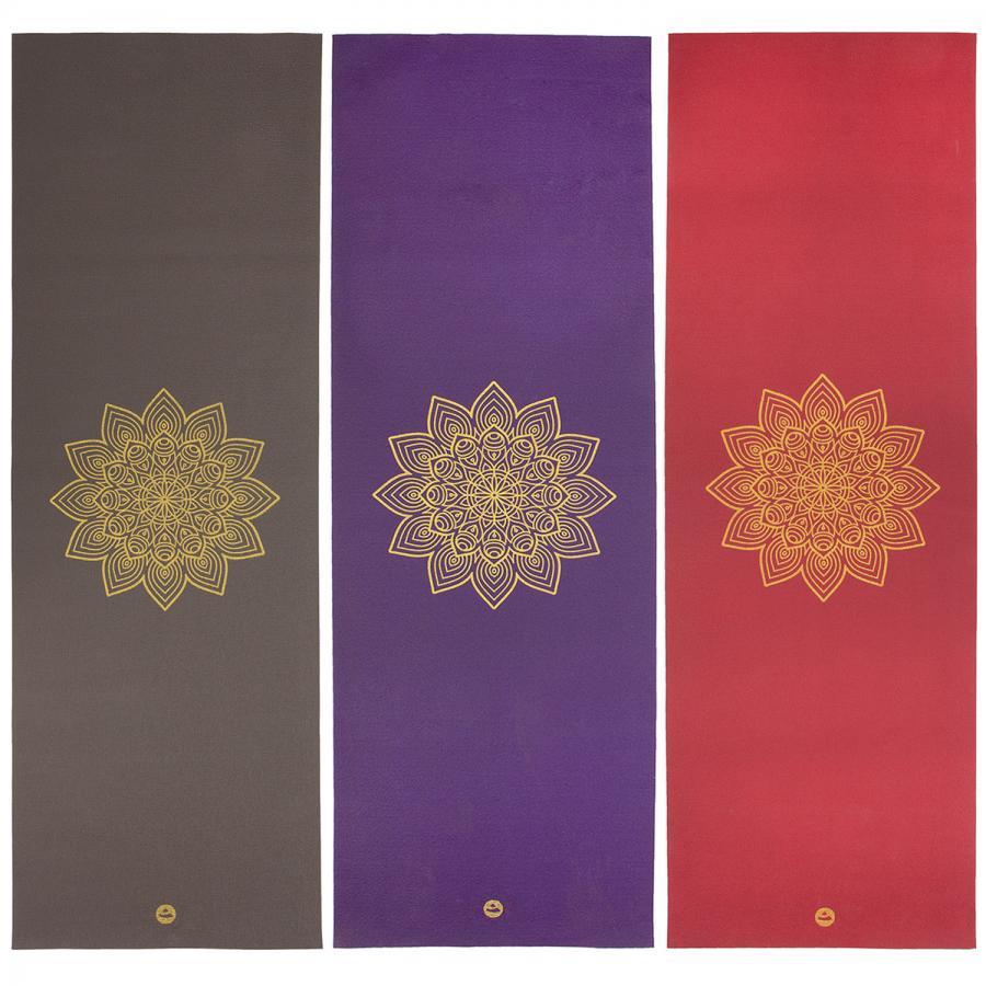 Yoga mat RISHIKESH Premium 60 with golden mandala