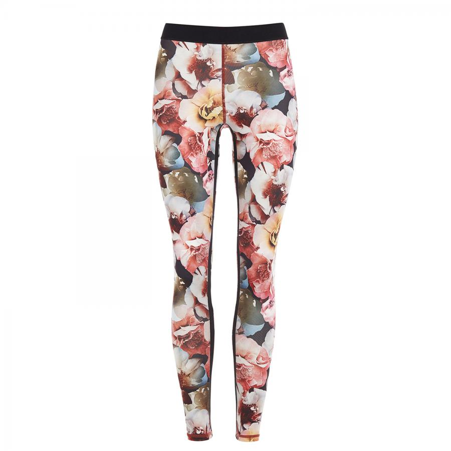 Mandala Fashion Fancy Leggings, rose print