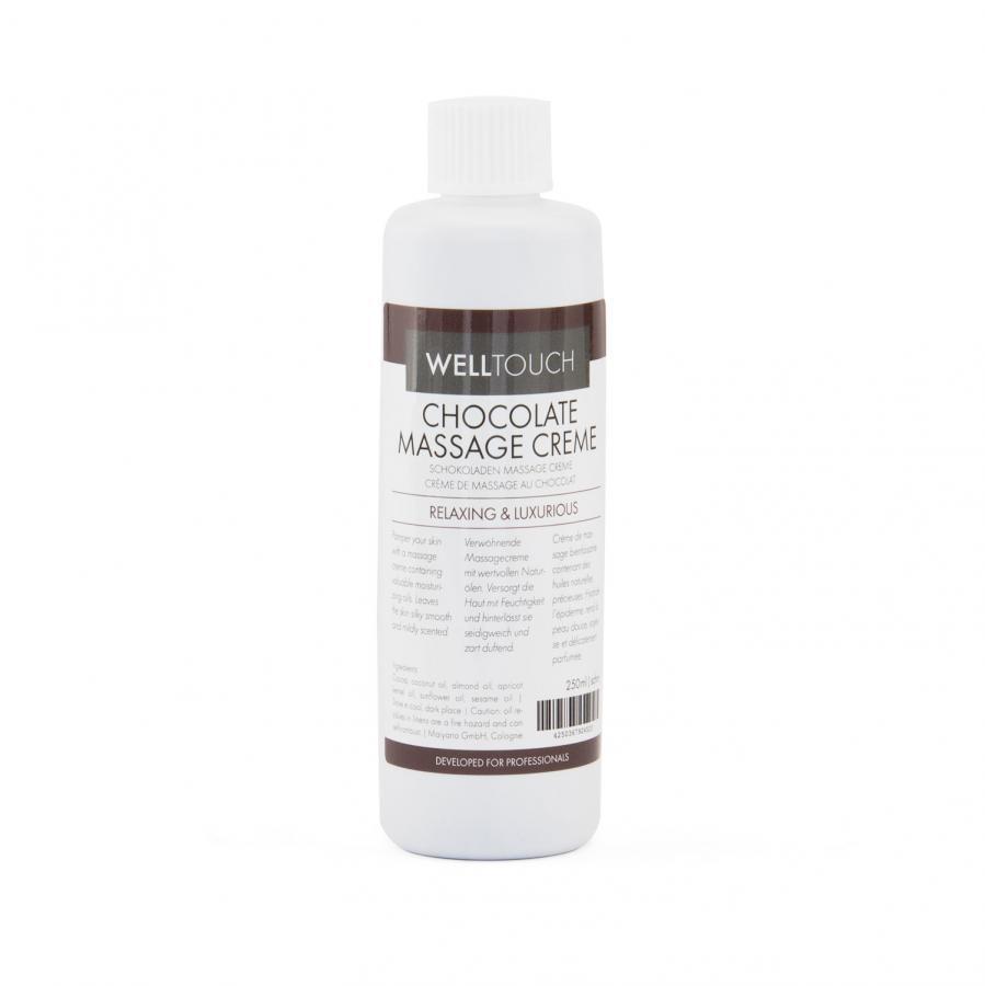 Crème de massage au chocolat, WellTouch 250 ml