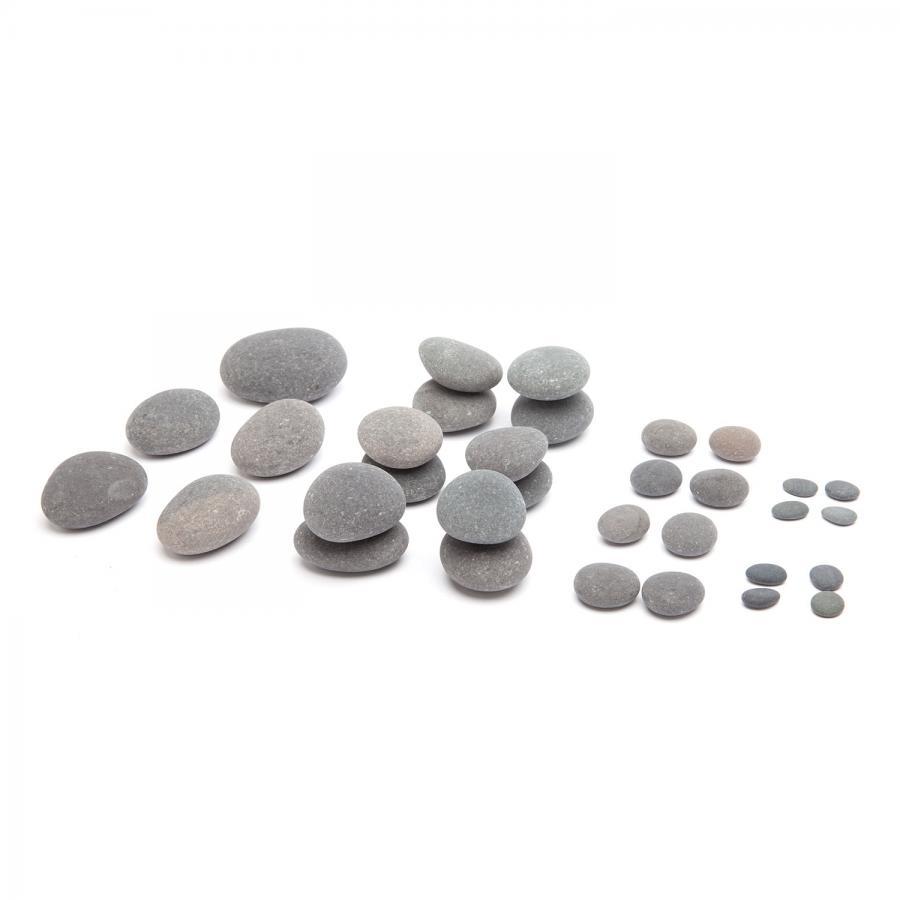 Clearance Sale: Premium Hot Stone Pro Set, 33 pcs.