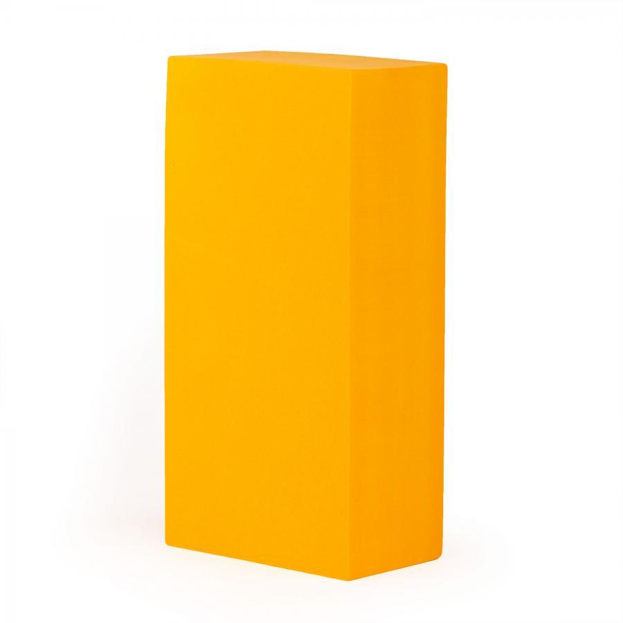 Brique de yoga ASANA (en mousse EVA) orange safran
