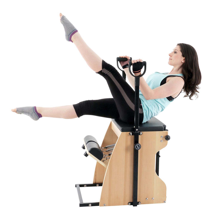 Combo Chair Ii: Align Pilates Combo Chair II, Flat Pack